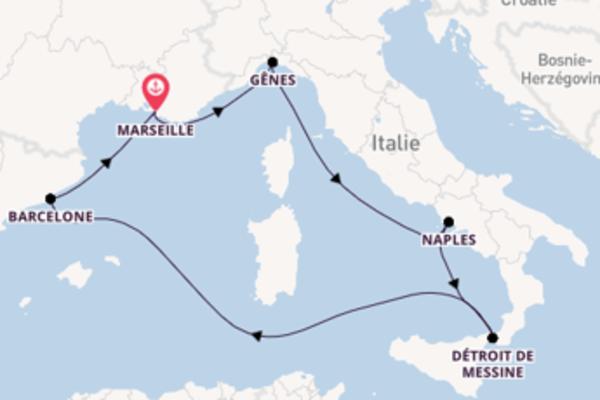 8 jours pour découvrir Barcelona, Spain à bord du beateau MSC Seashore