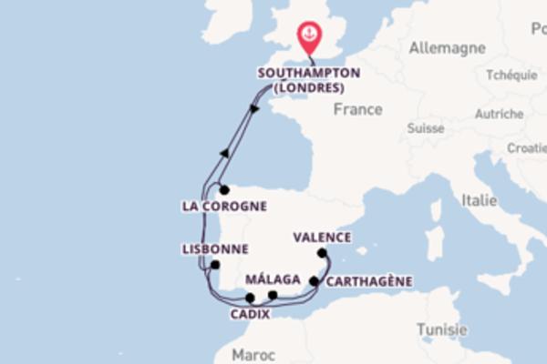 Incontournable balade de 14 jours avec P&O Cruises