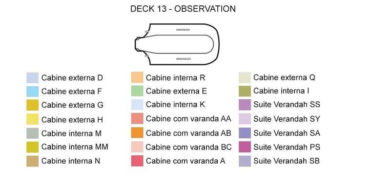 Prinsendam Deck 13 - Observation