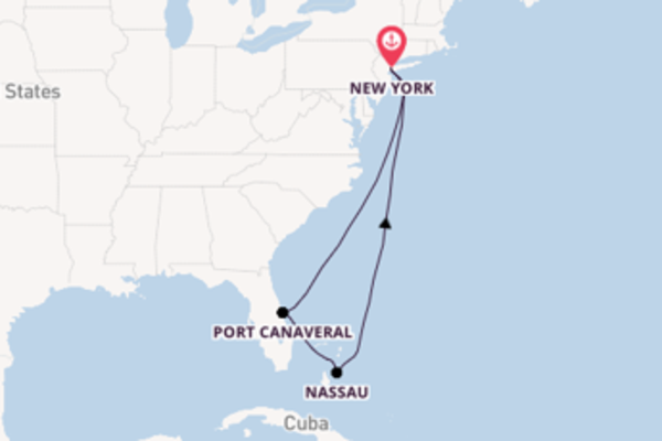 9-daagse cruise vanaf New York