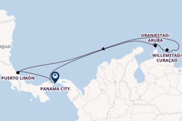 In 9 Tagen nach Panama City