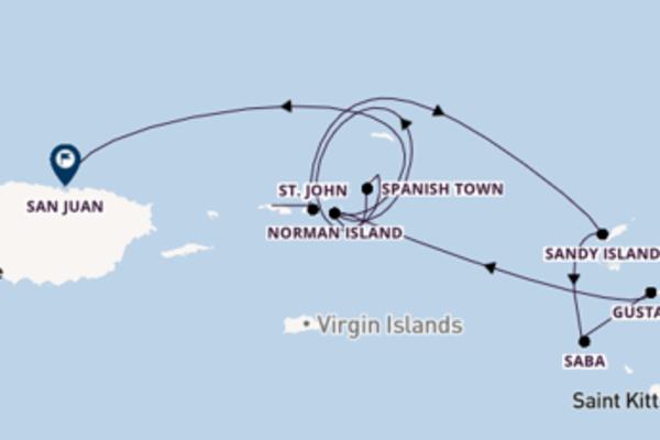 Gustavia ervaren met de SeaDream I