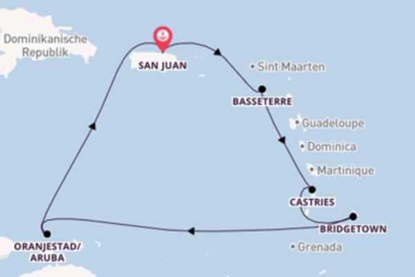 Erleben Sie Bridgetown ab San Juan