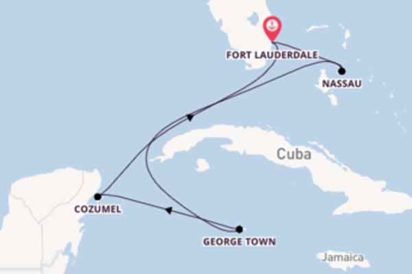 Cruise met Celebrity Cruises naar het sensationele Fort Lauderdale
