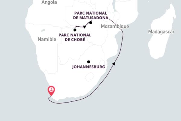 4 jours pour découvrir Parc national de Matusadona, Zimbabwe à bord du beateau African Dream