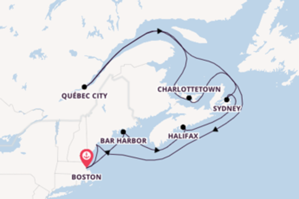 Majestic trip from Boston with Celebrity Cruises
