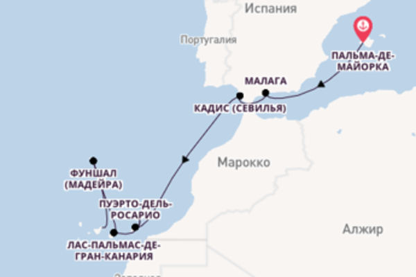 Бесподобное путешествие на 12 дней на AIDAnova