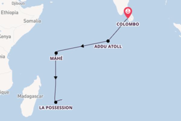 Cruise met Hapag-Lloyd Cruises naar Addu Atoll, Malediven