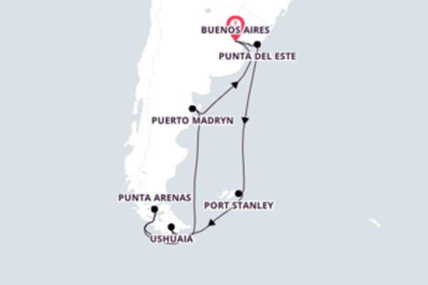 Stunning Montevideo Expedition with Azamara Quest