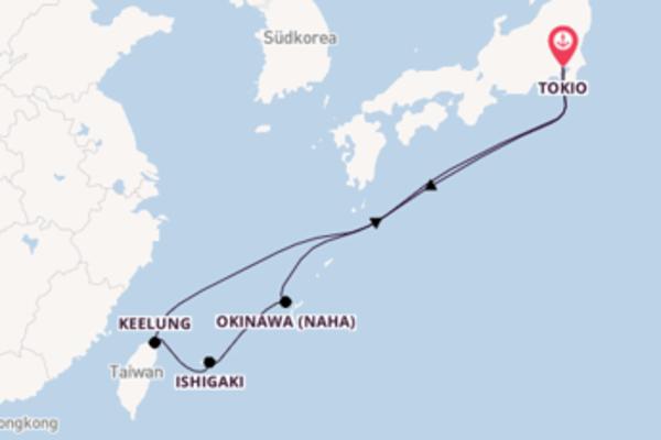 Wundervolle Reise über Okinawa in 9 Tagen