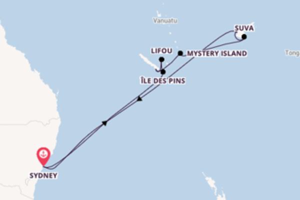 Ga mee op de Serenade of the Seas naar Sydney