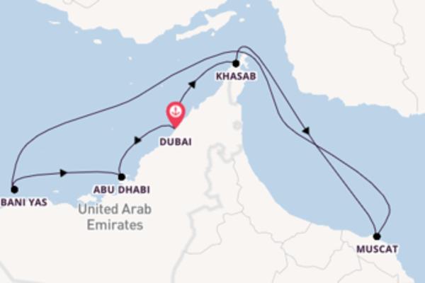 9-daagse reis aan boord van de Mein Schiff 6