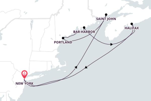 Spectacular Saint John from New York with Norwegian Breakaway