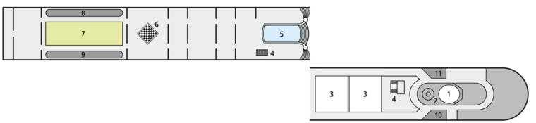 A-ROSA STELLA Sun Deck