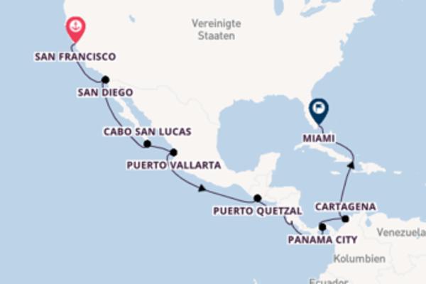 18 Tage Mittelamerika Reise
