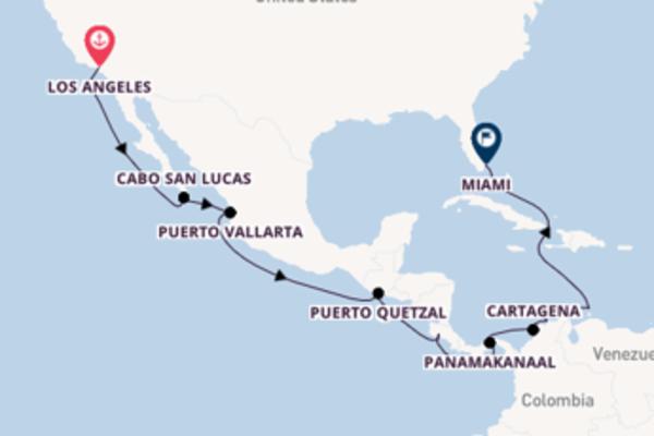 17-daagse cruise naar Cabo San Lucas