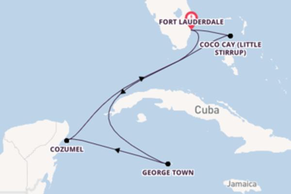 7 dias navegando a bordo do Odyssey of the Seas