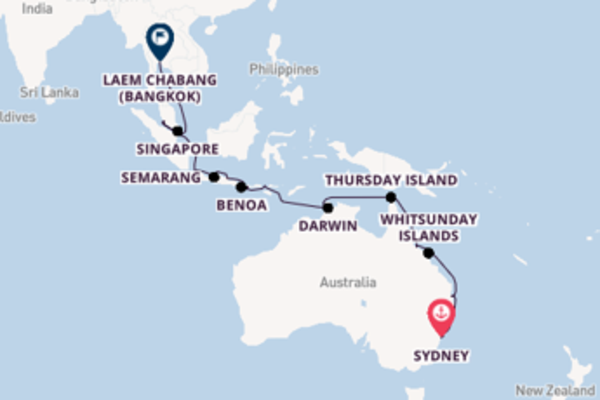 Expedition from Sydney with the Viking Orion