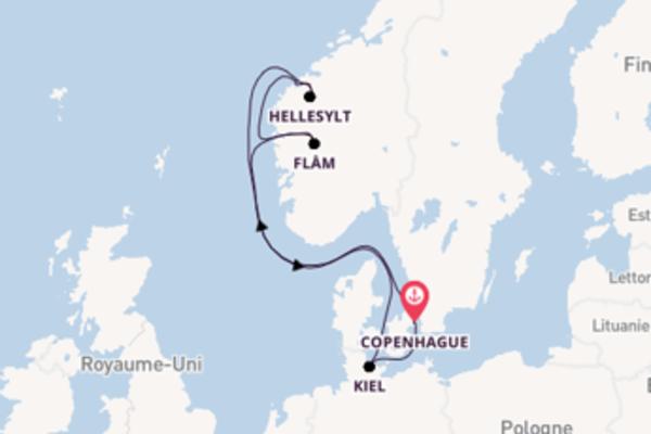 Admirez à bord du bateau MSC Virtuosa, la destination: Ålesund
