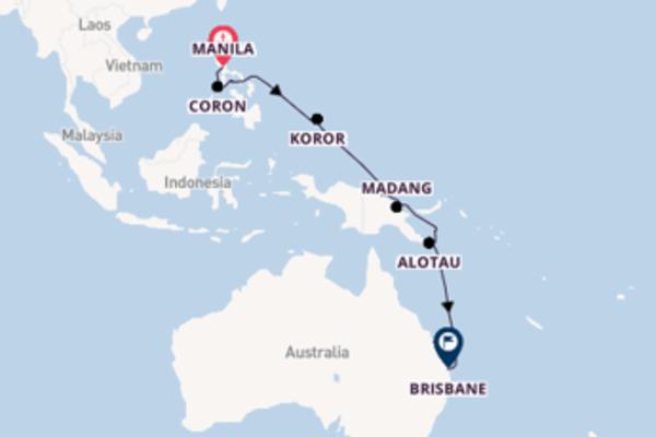Lasciati affascinare da Kitava arrivando a Brisbane
