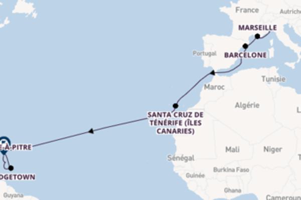 Croisière de 16 jours depuis Savone avec Costa Croisières