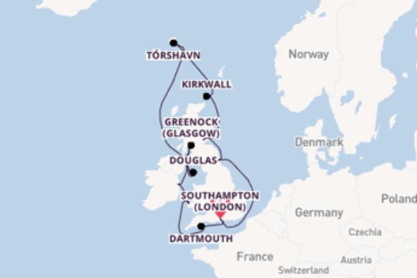 Lasciati conquistare da Kirkwall e Southampton (London)