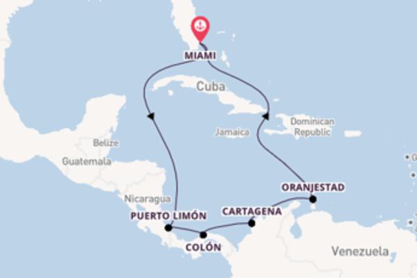 11-daagse cruise naar Cartagena