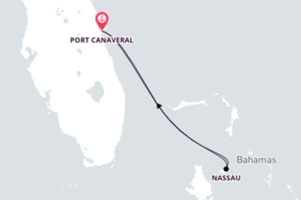 Conheça Nassau com o Carnival Liberty