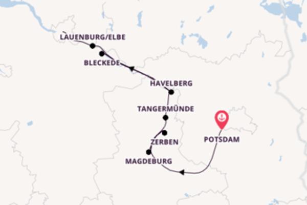 Potsdam, Potsdam und Hamburg entdecken