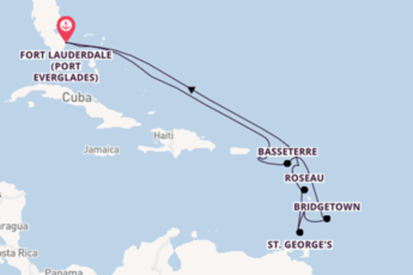 13 day cruise with the Celebrity Equinox to Fort Lauderdale (Port Everglades)
