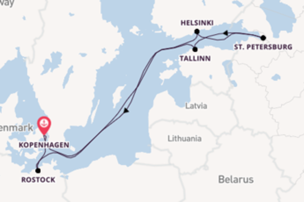 Bewonder Helsinki met Norwegian Cruise Line