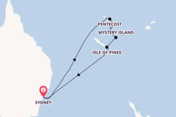 Sailing from Sydney with the Pacific Adventure