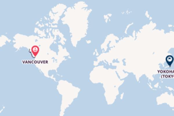 Navigando da Vancouver verso Ketchikan