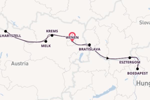Bezoek de parels van Bratislava
