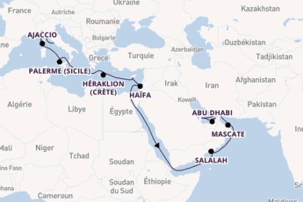 Contemplez avec Costa Croisières , la destination: Doha