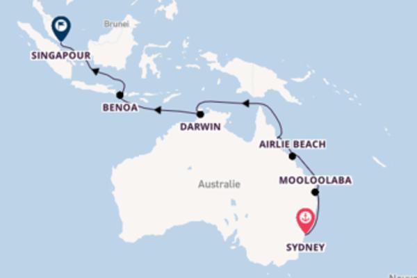 Magnifique balade de 19 jours au départ de Sydney