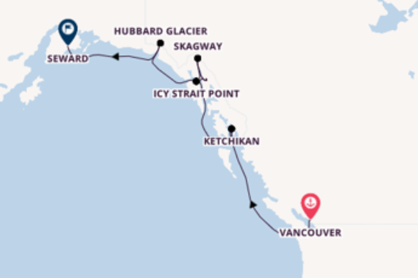 Voyage with the Radiance of the Seas from Vancouver