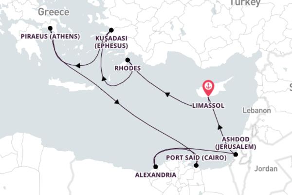 Colorful Kuşadası Escape with Celestyal Cruise Lines