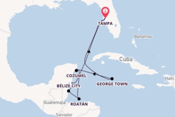 Croisière de 9 jours vers Tampa avec Royal Caribbean