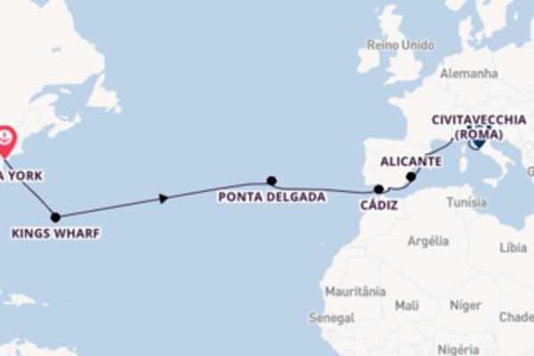 Relaxe a bordo do Norwegian Escape em 17 dias
