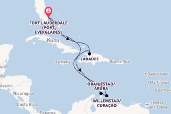 9 Tage Karibik Reise