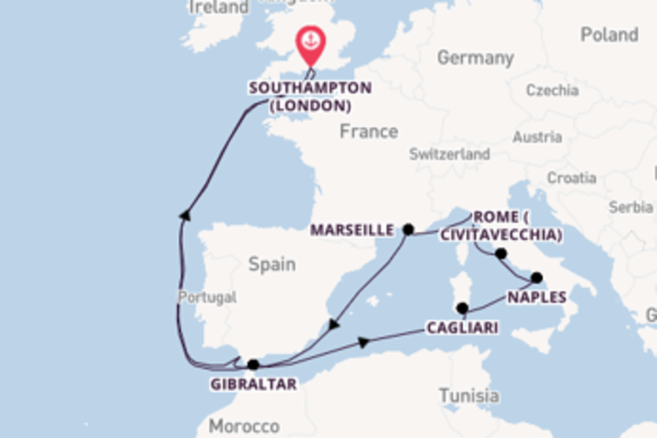 Trip with Celebrity Cruises from Southampton