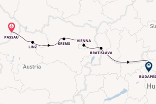 Expedition with Viking River Cruises from Passau to Budapest