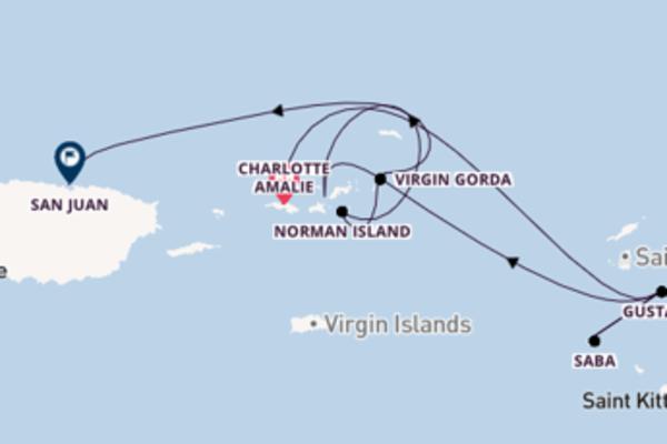 In 8 Tagen nach San Juan über Saba