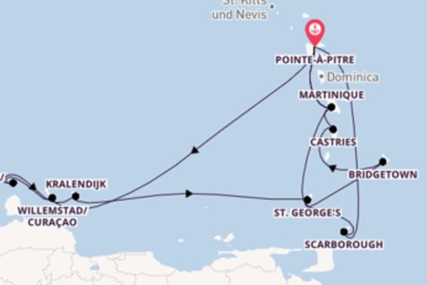Zauberhafte Reise über St. George's in 15 Tagen