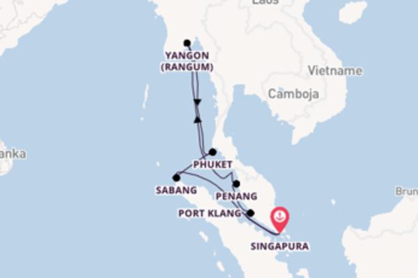 Deslumbrante viagem de 13 dias a bordo do Nautica