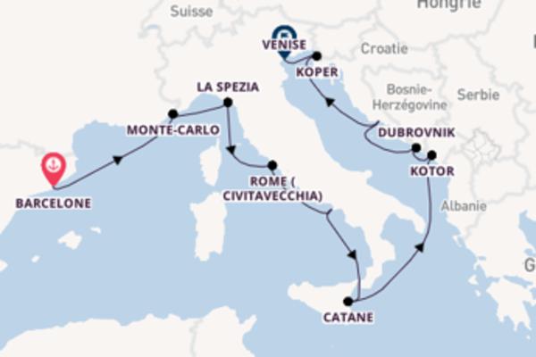 11 jours pour découvrir Dubrovnik à bord du beateau Norwegian Spirit