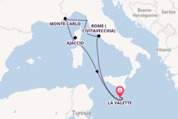 Admirez à bord du bateau Azura , la destination: Rome (Civitavecchia)