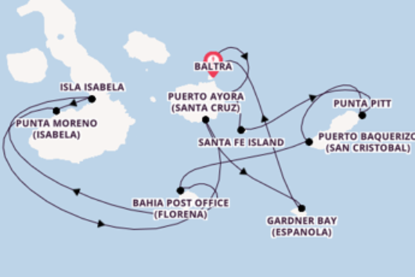 Expedition with Celebrity Cruises from Baltra
