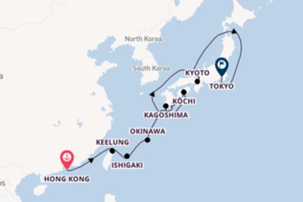 Favoloso viaggio di 13 giorni a bordo di Azamara Quest